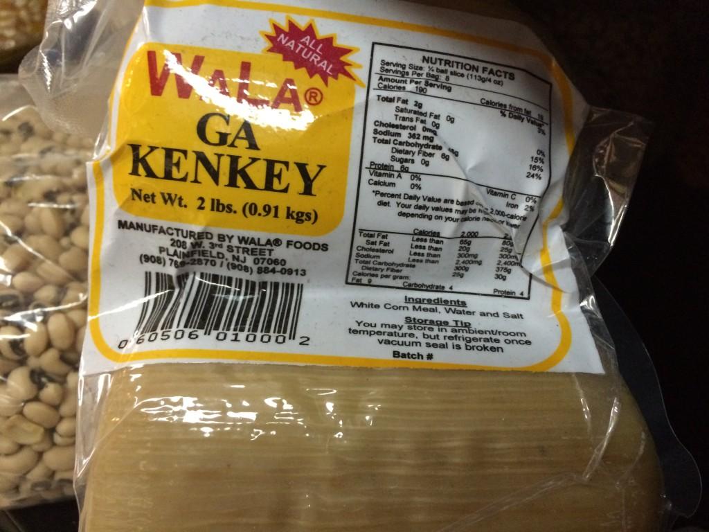 Ga Kenkey
