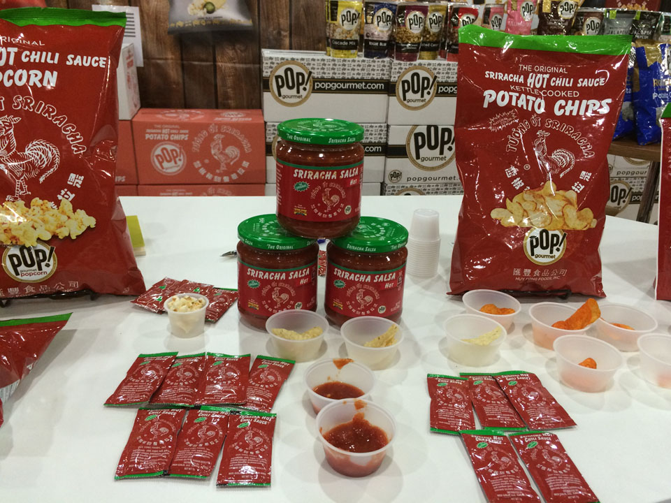 Fancy Food Show Sriracha